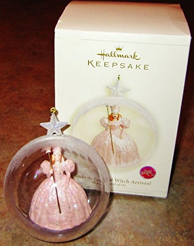 (Hallmark 2006 Glinda The Good Witch Wird Wizard of Oz Ornament)