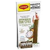 Maggi Ideen vom Wochenmarkt Riesengarnelen Thai Style (Würz-Paste zum Braten, mit Kokosmilch und Zitronengras, 3 Portionen) 1er Pack (1 x 88ml)