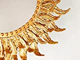Dipamkar-Gold-Ornate-francs-Vintage-estilo-metal-marco-espejo-de-pared-decorativo-pared-arte