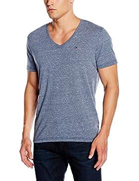 Hilfiger Denim Herren T-Shirt Original Melange Vn Knit S/S