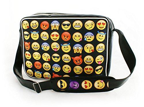 Oryginale Umhängetasche Schultasche Sporttasche Messenger Laptop Bag 20 Varianten Emoji (Laptop-computer-auktion)