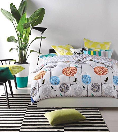 Polyester Betten/Bettwaren Wärme Voll/Queen/Voll/Twin Size Daunendecke Bettdecke einfügen, hypoallergen, genäht, Drucken Bettdecke Kern, Wunschbaum, 200 x 230 cm (3 Kg)