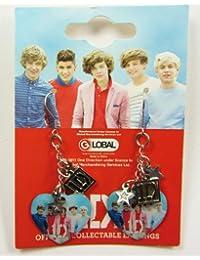 One Direction Heart Earrings