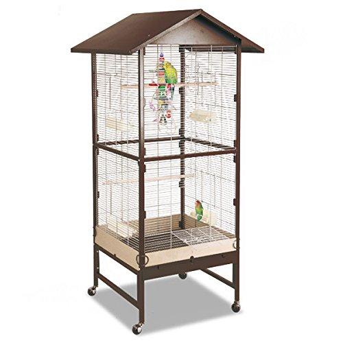 Montana Cages ® | Voliere, Zimmervoliere, Käfig Villa Casa 75 - Choco/Vanille
