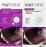 biotebal Set Shampoo & Conditioner gegen Haarausfall/szampon odzywka Zestaw