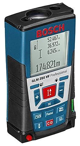 Bosch GLM 250 VF - laser levels (Black, Blue, Red, Alkaline)