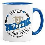 MoonWorks Kaffee-Tasse Bester Papa der Welt Geschenk für Papa Royal Unisize