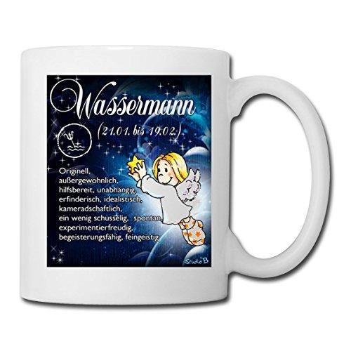 517wadZU6wL Sternzeichen Wassermann Kaffeetasse Becher Tasse