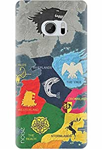 Noise Designer Printed Case / Cover for HTC 10 / Patterns & Ethnic / Map Of Thrones