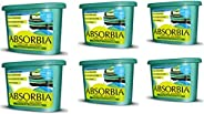 Absorbia Moisture Absorber Season Pack - For Wardrobes/Kitchen Cabinets/Bathroom Cabinets/Shoe Closets - 1.8 k