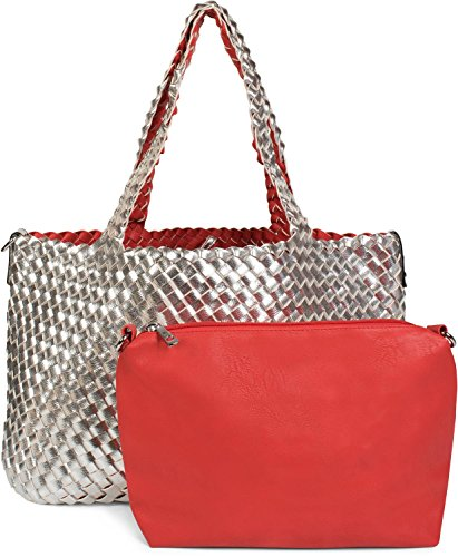 ee15b07bf6c1a Handtasche Flechtoptik günstig kaufen mit Erfahrungen von Käufern ...