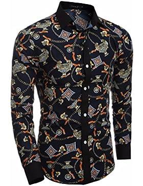 El otoño y el invierno los hombres 3d ultra personalidad hombres Sau San Polo Shirt