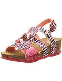 Desigual Wedge Bi, Heels Sandals para Niñas