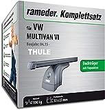 Rameder Komplettsatz, Dachträger SquareBar für VW MULTIVAN VI (124911-14349-1)
