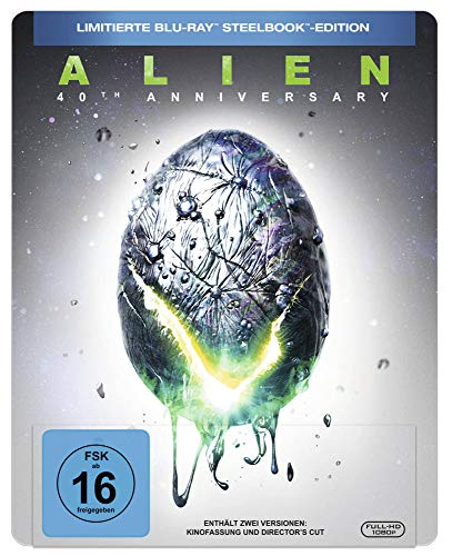 Alien - 40th Anniversary Steelbook - Limited Edition [Blu-ray]