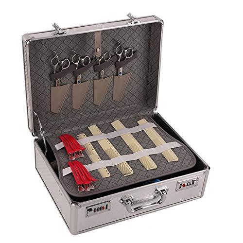 Friseur Box Kit Friseur koffer Passwortschutz Schere, gebraucht gebraucht kaufen  Wird an jeden Ort in Deutschland