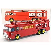 Norev FIAT Bartoletti 306/2 - Coche de Carreras Ferrari JCB Racing (Escala 1