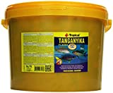 Tropical Tanganyika Flockenfutter Tanganyikaseecichliden, Tanganjika, 1er Pack (1 x 11 l)