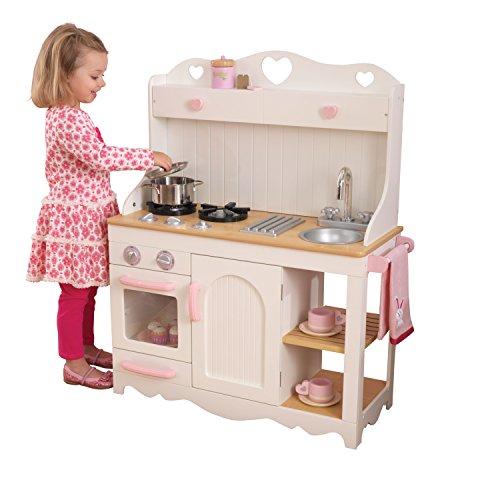 Imagen principal de KidKraft 53151 Cocina de juguete Prairie de madera para niños - Blanco
