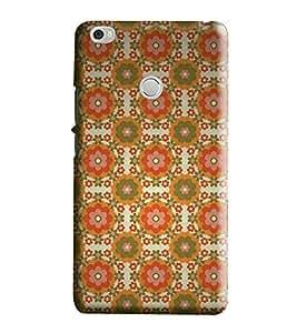 Hi-Me Designer Phone Back Case Cover Xiaomi Mi Max :: Redmi Max :: Xiaomi Mi Max ( Desi Bright Vibrant Artistic Pattern )