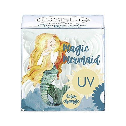 Invisibobble Original Magic Mermaid Ocean Tango, haarschonendes Spiral Cheveux Caoutchouc, Lot de 2 (2 x 1 pièces)