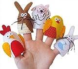 Easter Animal finger Puppets