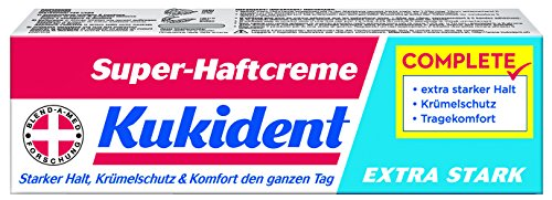 Kukident Super-Haftcreme Extra Stark Complete - 40ml