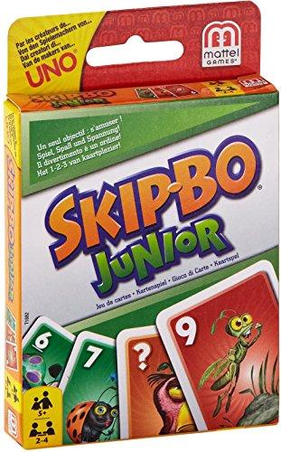 Imagen principal de Mattel T1882-0 - Juego de cartas Skip-Bo Junior