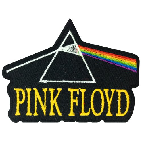 Pink Floyd Musica Band Logo I Embroidered Iron cerotti - Burner Tee
