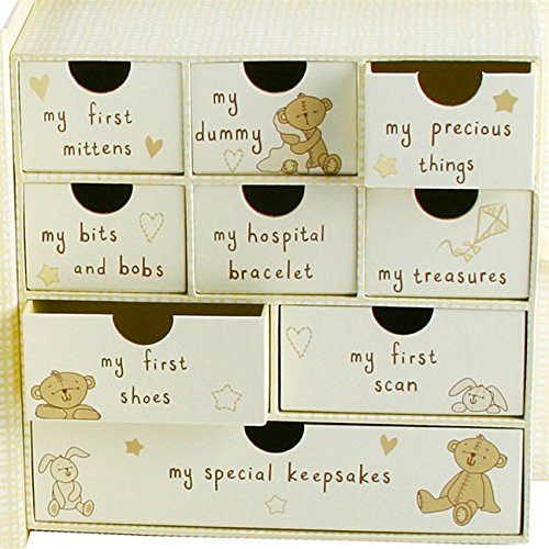 Baby Box for Keepsakes and Memories