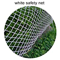Railing Safety Net, Protection Net For Kids Construction Building Fence Balcony Stair Children Dog Cat Patio Gate Kindergarten Yard Playgroud Garden Flower Plant Outdoor White (Size : 1x2m)