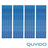 20 QUVIDO Blu-Ray Hüllen Blau Double / 2 Blu-Rays / 11mm