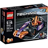 LEGO Technic 42048 Race Kart, Features A Sleek and Authentic Design by LEGO