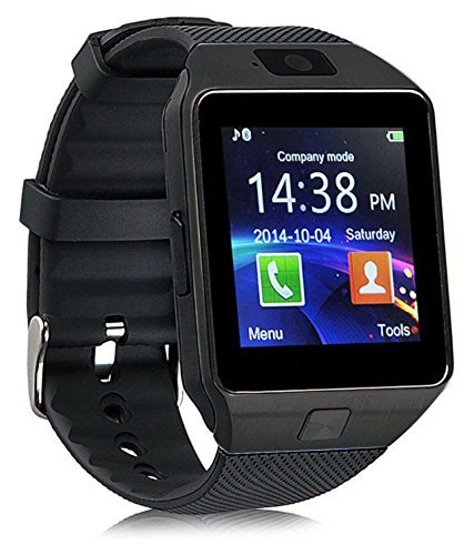 Bluetooth Smart Watch With Camera, Sim Card and Multilanguage Support | Apps like Facebook, Touch Screen and WhatsApp | Compatible with Samsung Galaxy S7 edgeBy mobicell
