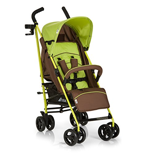 Hauck Speed Plus Four Wheel Pushchair – Brown/Green