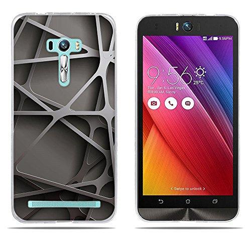 DIKAS ASUS ZenFone Selfie ZD551KL Hülle, Transparent Ultra Slim Tasche Etui Weich Flexibel Crystal Clear Premium TPU Silikon Bumper Schutzhülle für ASUS ZenFone Selfie ZD551KL- Pic: 13