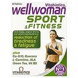 4 x Vitabiotics Wellwoman Sport & Fitness 30 Tablets