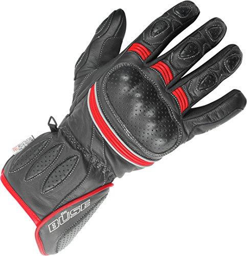 Büse Pitlane Handschuhe 11 (XXL) Rot/Schwarz