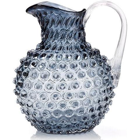 MARKHBEIN KIBIC Pineapple ottica punti Caraffa Brocca con bolle blu