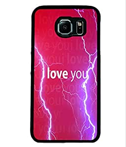 PrintVisa Metal Printed Quotes Designer Back Case Cover for Samsung Galaxy S6 Edge G925I-D4949