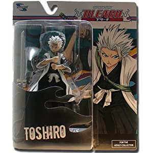 Bleach Toynami Series 4 Action Figure-Toshiro Hitsugaya with Hyorinmaru 5