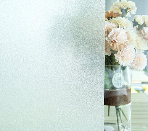 Film Fenêtre Stickers Electrostatique Opaque Dépoli Film 60*200CM UV Protection Verre Mate pour Maison Salle Bain Chambre Cuisine Bureau