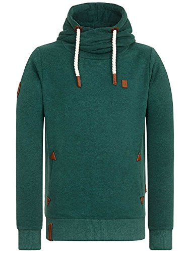 Naketano Male Hoody Dirty Schwanzus Longus dirty green melange