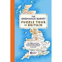 The Ordnance Survey Puzzle Tour of Britain: A Journey Around Britain in Puzzles (Puzzle Books)