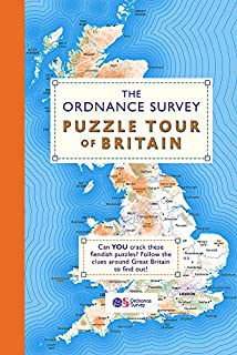 The Ordnance Survey Puzzle Tour of Britain: A Journey Around Britain in Puzzles (Puzzle Books) (1409184714) | Amazon price tracker / tracking, Amazon price history charts, Amazon price watches, Amazon price drop alerts