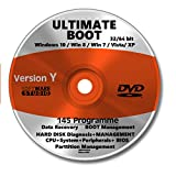 Ultimate Boot & Repair CD/DVD✔ Windows 10/8/7/XP✔ Bootfähig✔ Notfall CD✔ System-Diagnose Software✔ Alle PCs & Notebooks✔