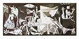 Kunst für Alle Impresión artística/Póster: Pablo Picasso Guernica - Impresión, Foto, póster artístico, 140x70 cm