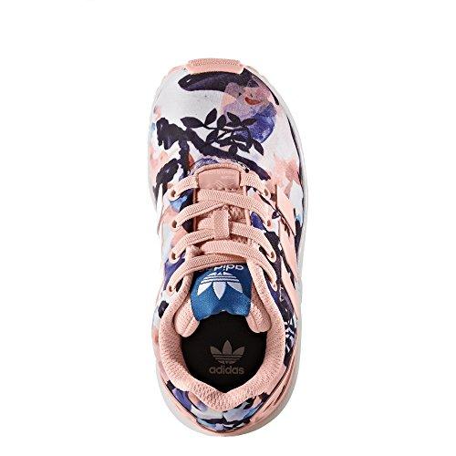 Chaussures Bebe ZX Flux El I Flowers e17 - adidas Originals Multicolore