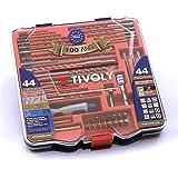 Mallette TECHNIC forets et embouts multi-matériaux 44 pièces TIVOLY