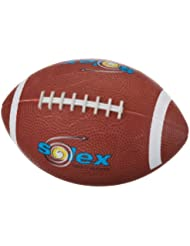 Solex Sports Mini Rubber-american Football Mini #1 - Balón de fútbol americano ( caucho ) , color naranja, talla 16 x 12 x 12 cm